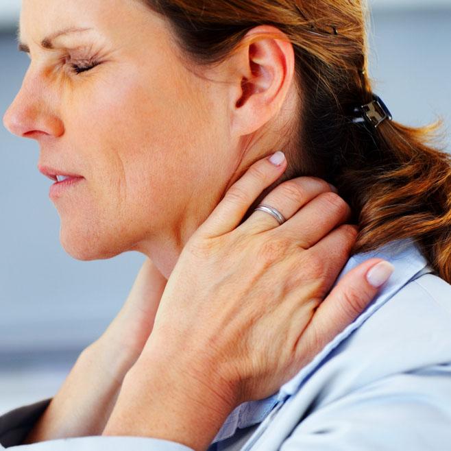 therapeutische massage bij nekpijn